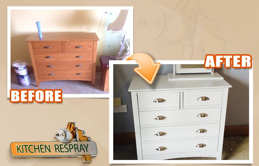 Furniture Respray Dublin