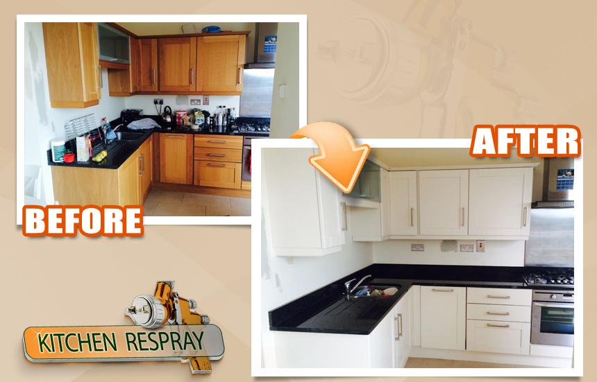 Kitchen Respray Stillorgan