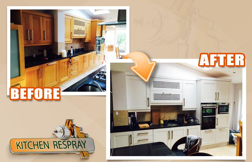 Kitchen Respray Sutton