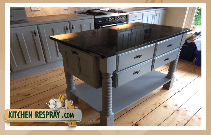 Kitchen Respray grey