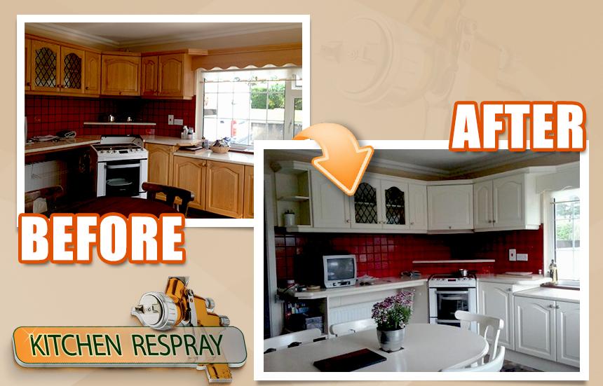 Kitchen Respray_Foxrock