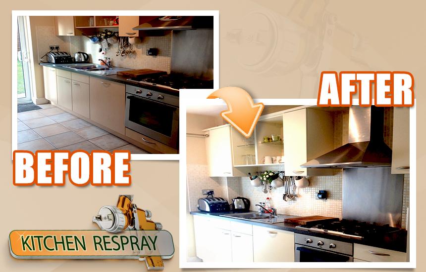Kitchen Respray_Shankill