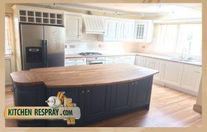 Kitchen Respray Stiffkeyblue Island