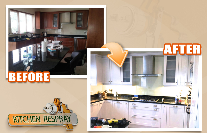 Kitchen Respray Greystones2