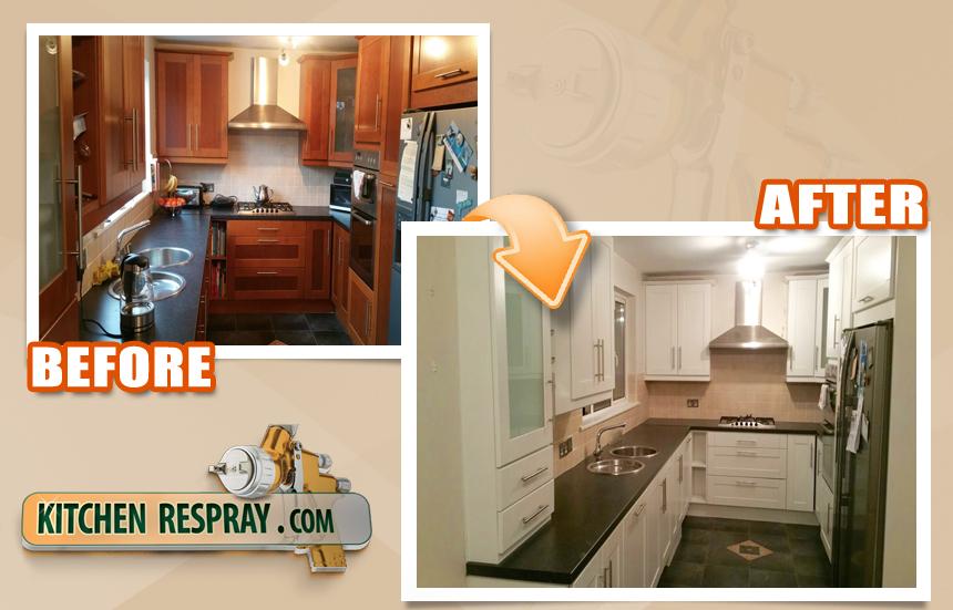 Kitchen Respray Greystones