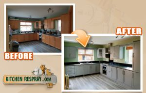 Kitchen Respray Ireland