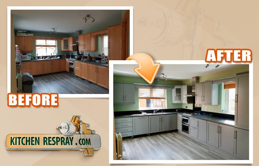 Kitchen Respray Ireland